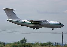 Photograph of an Algerian Air Force Ilyushin Il-76.