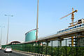 Industrial Park Haryana India and NH 11 Highway March 2015.jpg