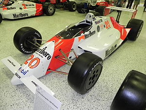 Patrick Racing - Emerson Fittipaldi's 1989 Indianapolis 500 winning car.