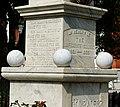 Inscription on Confederate soldier memorial, Statesboro, GA, US.jpg