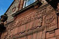 Inscription on old Library and Museum, Campbeltown - geograph.org.uk - 254203.jpg