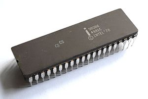 Intel 8086 - A ceramic D8086 variant