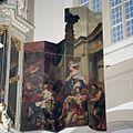 Interieur, orgel, detail - binnenzijde van het rechter hoofdwerkluik, 'De Koningin van Scheba bezoekt Koning Salamo'. Vervaardiger- Gerard de Lairesse, 1686 - Amsterdam - 20411624 - RCE.jpg