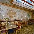 Interieur achterkamer, overzicht wand met muurschilderingen - Gouda - 20359212 - RCE.jpg
