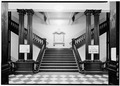 Interior, stairs - Boston City Hall, 41-45 School Street, Boston, Suffolk County, MA HABS MASS,13-BOST,70-9.tif