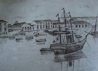 Battle of San Juan Bautista - French evacuation at San Juan Bautista