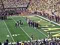 Iowa vs. Michigan football 2012 03 (1992 Michigan team).jpg