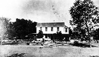 History of the San Fernando Valley - Home of Isaac Van Nuys, 1882