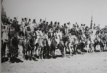 Israel in World War I - Druze volunteer cavalry unit H OP 037.JPG