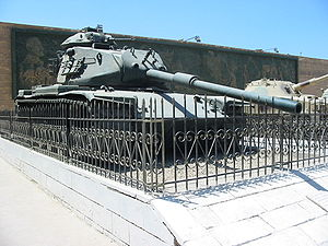 6th of October Panorama - Israeli M60 tank captured by the Egyptian army