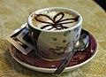 Italian breakfast cappucino, Esino Lario.jpg