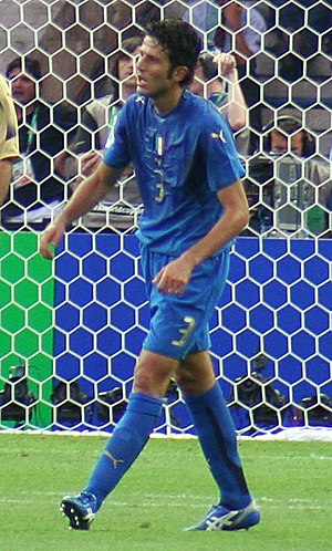 Fabio Grosso - Grosso with Italy at the 2006 FIFA World Cup Final