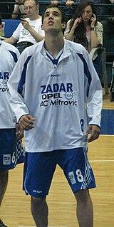 Ivan Batur Croatian basketball player