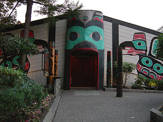 Duwamish people - Ivar's Salmon House, a restaurant on the north shore of Lake Union, hews closely to the design of a traditional longhouse.
