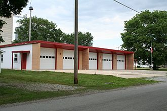 Ivesdale, Illinois - Ivesdale, Illinois Fire Station