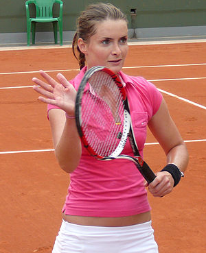 Iveta Benešová - Benešová at the 2008 French Open
