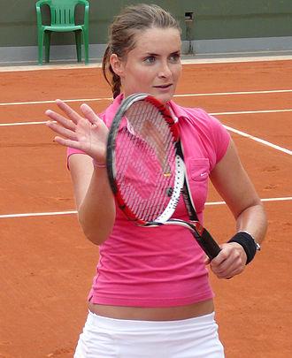 Iveta Benešová - Benešová at the 2008 French Open
