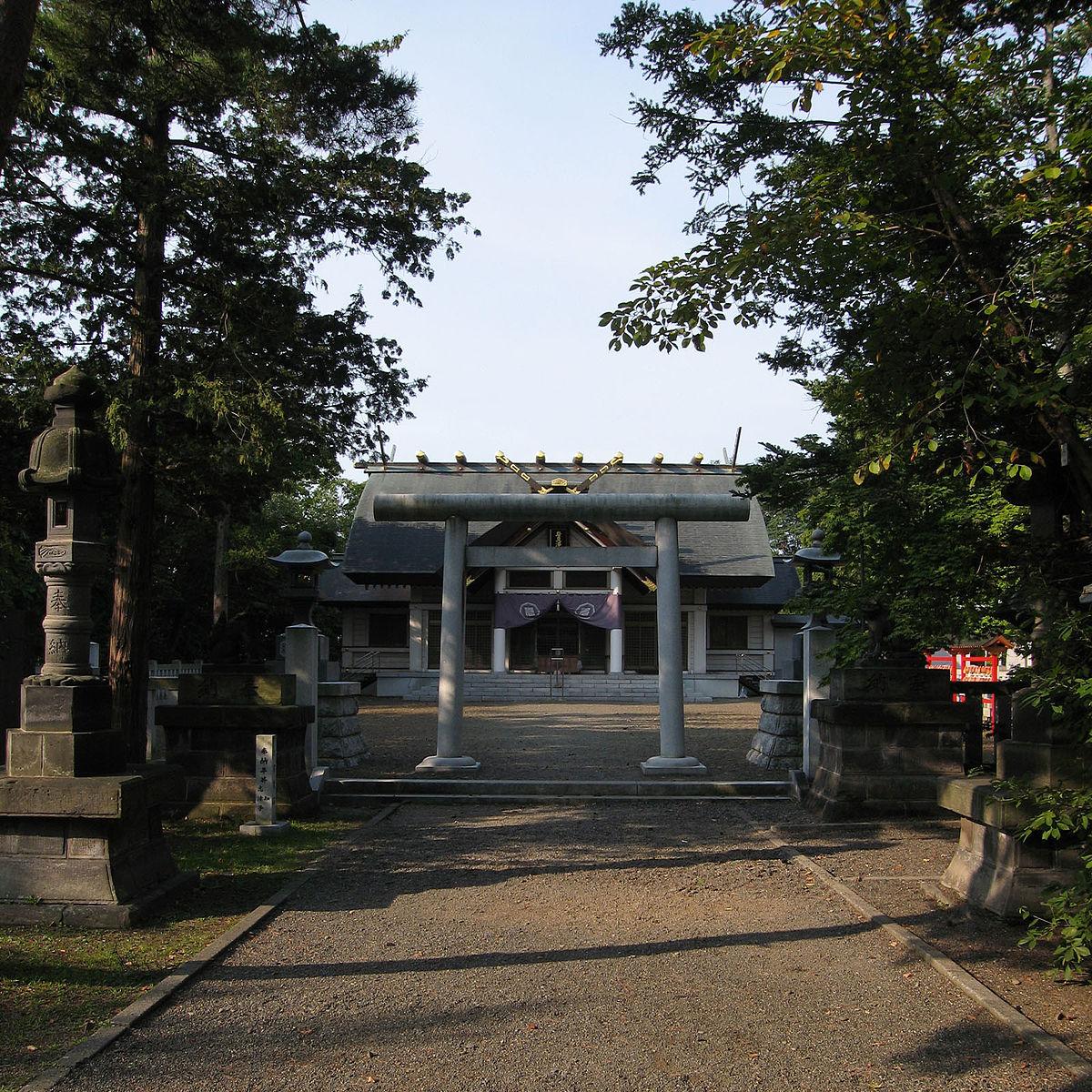 Iwamizawa Jinja - Wikipedia