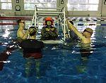JGSDF student prepares to be submerged 141217-A-VH820-001.jpg