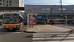 JREast-Joban-line-JL20-Kameari-station-entrance-north-20170104-140911.jpg