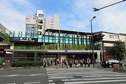 JR Morinomiya Station 20161016.jpg