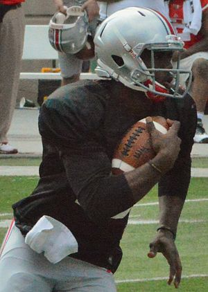J. T. Barrett - Barrett at the Ohio State 2014 spring game.