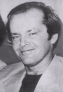 Jack Nicholson in 1976...