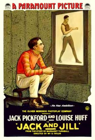 Jack and Jill (1917 film) - Theatrical release poster
