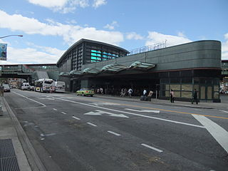 New York City Subway station complex in Queens