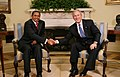 Jakaya Kikwete with George Bush August 29, 2008-1.jpg