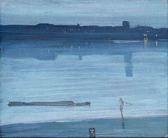 Nocturne: Blue and Silver – Chelsea - Image: James Abbott Mc Neill Whistler Nocturne Blue and Silver Chelsea Google Art Project