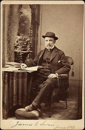 James G. Swan - Portrait of James G. Swan, 1883