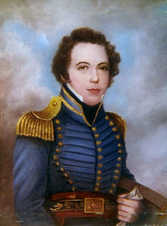 Gadsden Purchase - Lieutenant James Gadsden, U.S. Army, later American ambassador/ minister to Mexico