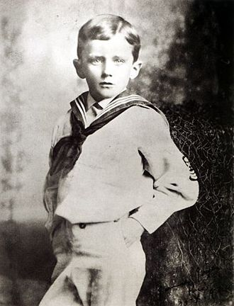 James Joyce - Joyce aged six, 1888
