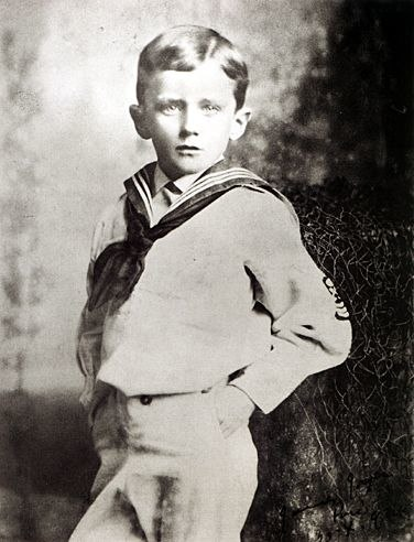 James Joyce age six, 1888