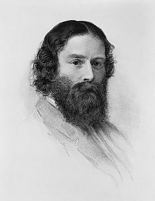 James Russell Lowell, c. 1855