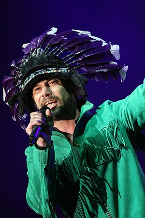 Jay Kay - Jay Kay with Jamiroquai at the Sydney Resolution Concert on New Year's Eve 2011