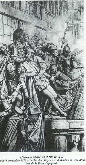 John III van de Werve, Lord of Hovorst - The death of the Lord of Hovorst by Godfried Guffens