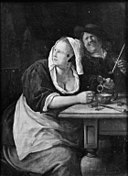 Jan Steen - Couple at an Inn Table - KMS2066 - Statens Museum for Kunst.jpg