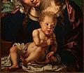 Jan gossaert e paesaggista anonimo, madonna col bambino in un paesaggio, 1531, 03.jpg