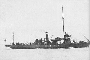 Sokuten-class auxiliary minelayer (1913) - Image: Japanese minelayer Kurosaki 1934