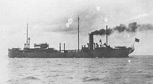 Ondo-class oiler - Image: Japanese oiler Naruto in 1932
