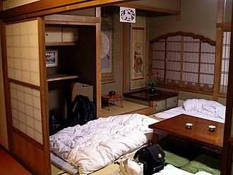 Room - A youth hostel room in Japan