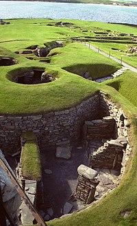 Ο προϊστορικός οικισμός του Τζάρλσχοφ στα νησιά Σέτλαντ