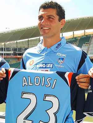 John Aloisi - Aloisi signing for Sydney FC in 2008
