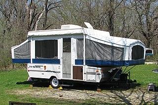 Popup camper type of vehicle