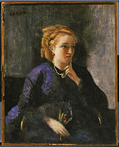 Jean-Baptiste-Camille Corot - Portrait of a Woman - Google Art Project.jpg
