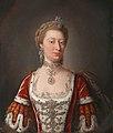 Jean-Baptiste van Loo (1684-1745) (studio of) - Princess Augusta of Saxe-Gotha-Altenburg (1719–1772), Princess of Wales - 1548064 - National Trust.jpg