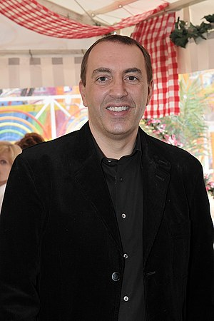 Jean-Marc Morandini - The French journalist Jean-Marc Morandini on April 2009.