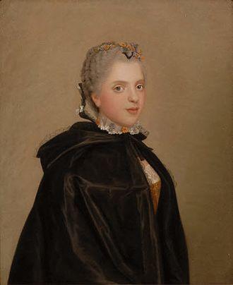 Sophie of France (1734–1782) - Jean Etienne Liotard - Prinzessin Sophie Philippine Élisabeth Justine de France (1734 - 1782) (Sammlung Rau)